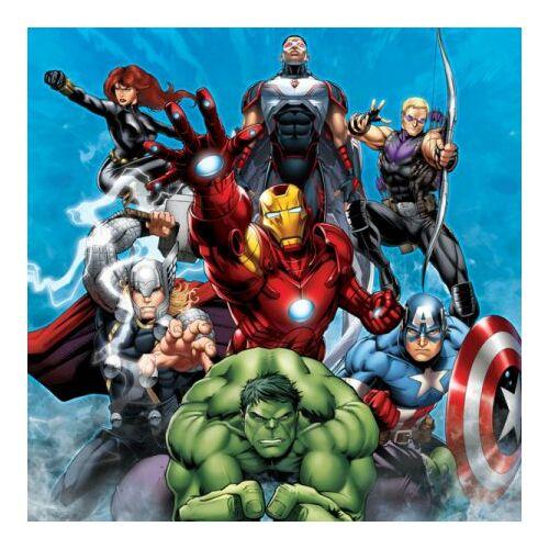 Marvel Bosszúállók párnahuzat 40 cm X 40 cm