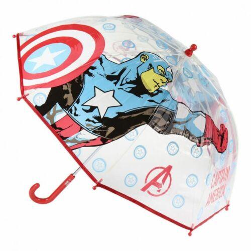 Bosszúállók gyerek esernyő - átlátszó kivitel
