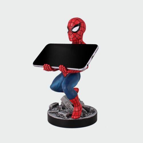 Pókember telefon és konzol kontroller tartó figura töltéshez