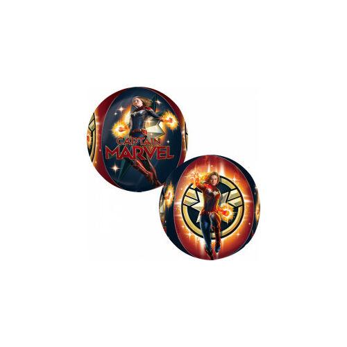 Marvel Kapitány fólia lufi gömb, 38 cm