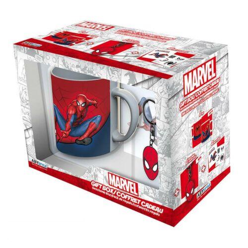 Marvel Pókember ajándékcsomag (Bögre, kulcstartó és matrica szett)