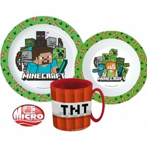 Minecraft műanyag étkészlet szett
