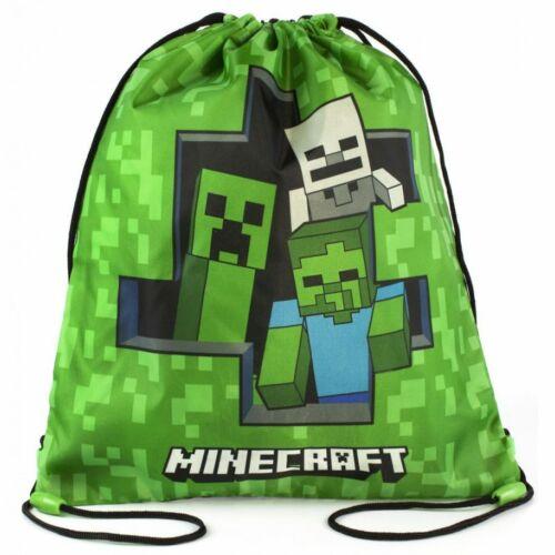 Minecraft tornazsák, sportzsák