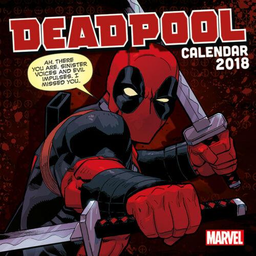Deadpool naptár 2018