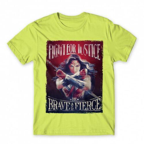 Almazöld Wonder Woman férfi rövid ujjú póló - Poster