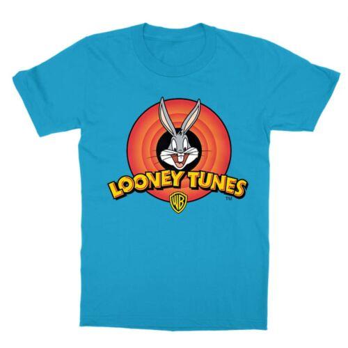 Atollkék Bolondos dallamok gyerek rövid ujjú póló - Bugs Bunny Logo