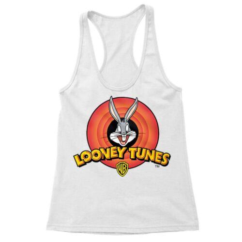 Fehér Bolondos dallamok női trikó - Bugs Bunny Logo