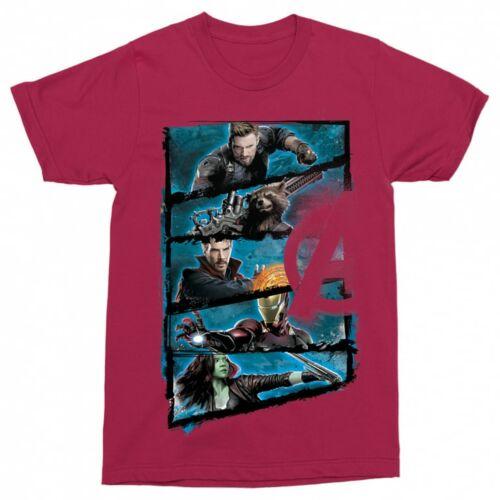 Chili Marvel Bosszúállók - Avengers férfi rövid ujjú póló - Infinity War Frame