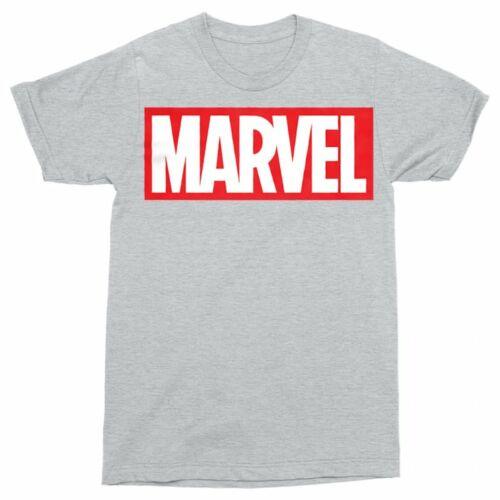 Sportszürke Marvel logó férfi rövid ujjú póló