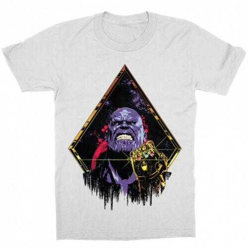 Fehér Marvel Thanos gyerek rövid ujjú póló
