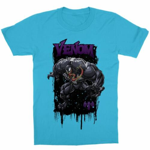 Atollkék Venom gyerek rövid ujjú póló