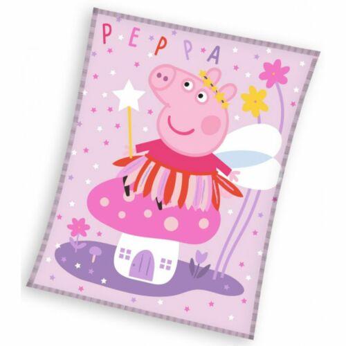 Peppa malac polár takaró, ágytakaró