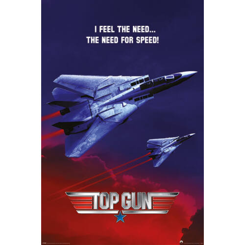 Top Gun plakát - The Need For Speed