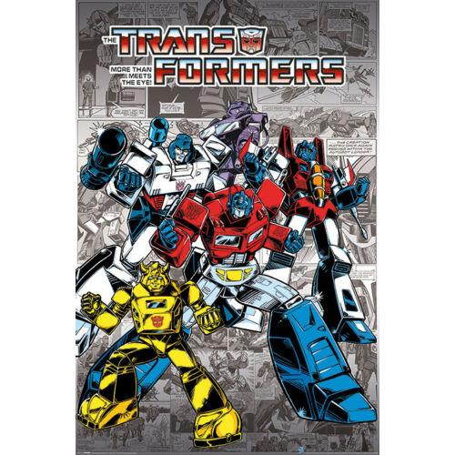 Transformers plakát - Retro Comics