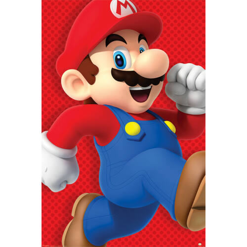 Super Mario Run plakát