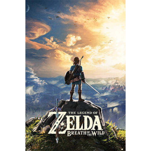 The Legend Of Zelda: Breath Of The Wild plakát- Sunset