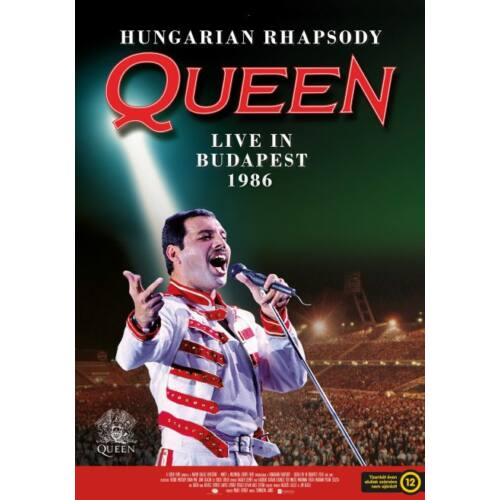 Hungarian Rhapsody - Queen Live in Budapest 1986 plakát