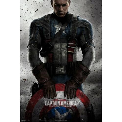 Amerika Kapitány plakát