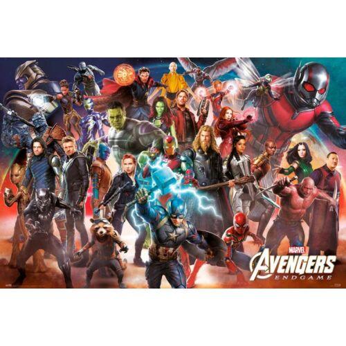 Bosszúállók: Végjáték plakát - Line Up
