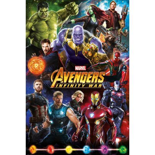 Bosszúállók: Végtelen háború plakát - Karakterek