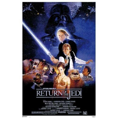 Star Wars: A Jedi visszatér plakát