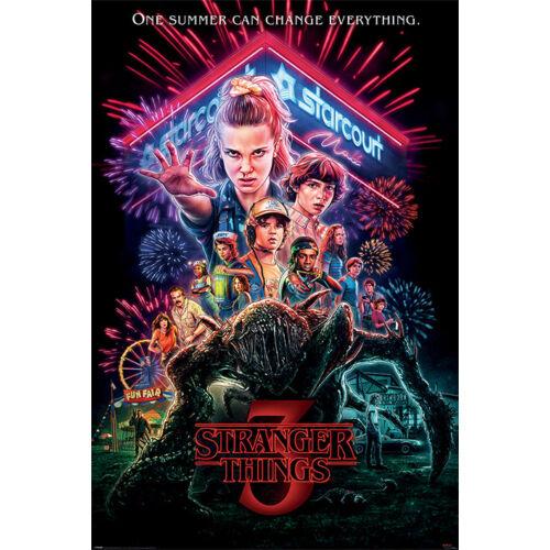 Stranger Things 3. plakát - Summer of 85