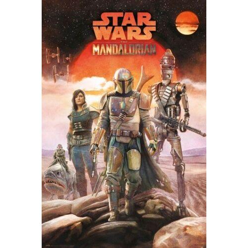 Star Wars: The Mandelorian plakát