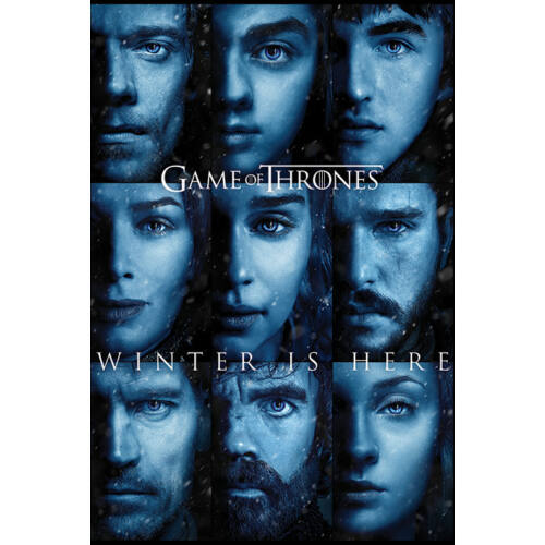 Trónok harca plakát - Winter is Here