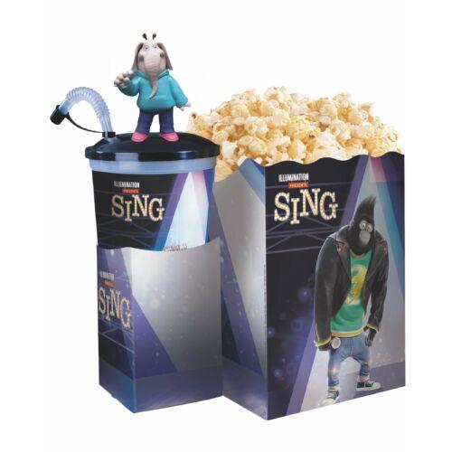 Énekelj! pohár, topper és popcorn tasak (Meena figura)