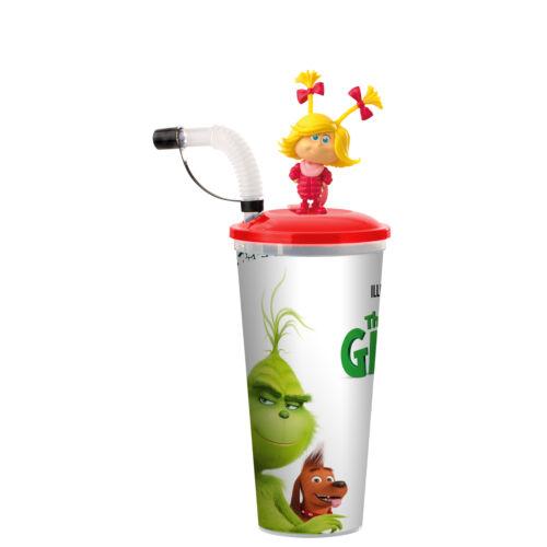 A Grincs pohár és Cindy-Lou Who topper