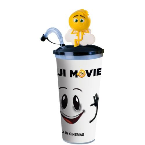Az Emoji-film pohár, Gene topper és popcorn tasak