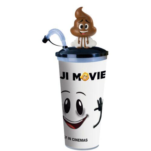 Az Emoji-film pohár, Poop topper és popcorn tasak