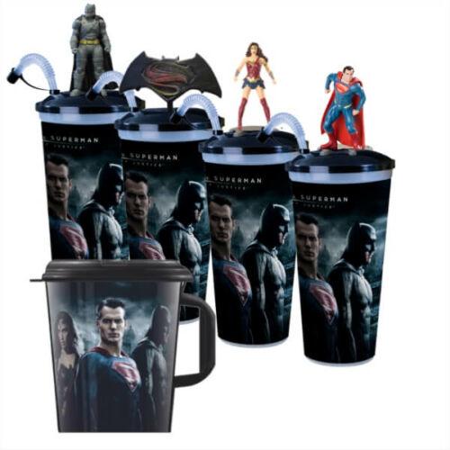 Batman Superman ellen - Az igazság hajnala pohár és topper szett + ajándék MegaCup