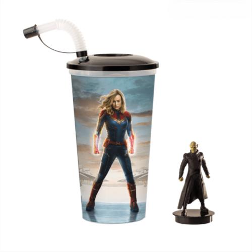 Marvel Kapitány pohár és Talos topper