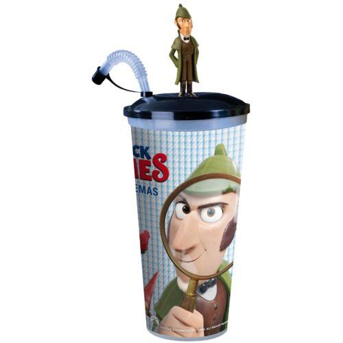 Sherlock Gnomes pohár, Sherlock Gnomes topper és popcorn tasak