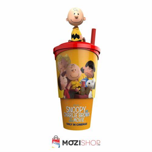 Snoopy és Charlie Brown - A Peanuts film pohár és Charlie Brown topper