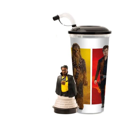 Solo: Egy Star Wars-történet pohár, Lando Calrissian topper és popcorn tasak