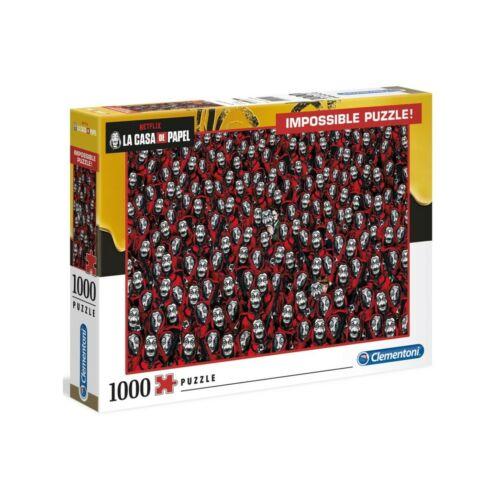 A nagy pénzrablás lehetetlen puzzle 1000 db-os