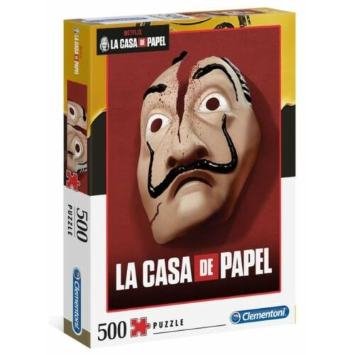 A nagy pénzrablás 2 puzzle - 500 db-os - La Casa De Papel 2