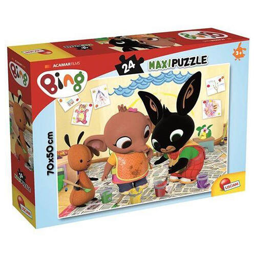 Bing Maxi puzzle 24 db-os - Festés