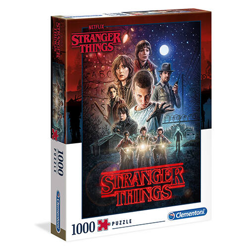 Stranger Things puzzle - 1000 db-os