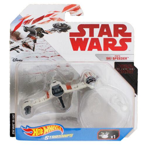 Hot Wheels - Star Wars: Poe Dameron Ski Speeder csillaghajója