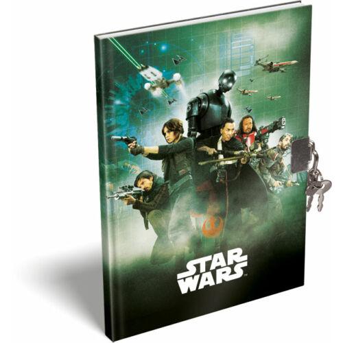 Zsivány Egyes: Egy Star Wars-történet keményfedeles emlékkönyv A/5