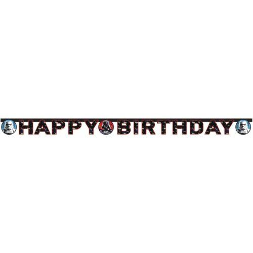 Star Wars Happy Birthday felirat - 1,4 méter