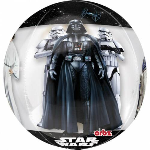 Star Wars gömb fólia lufi 40 cm-es