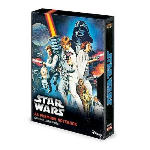 Star Wars prémium jegyzetfüzet - Egy új remény VHS