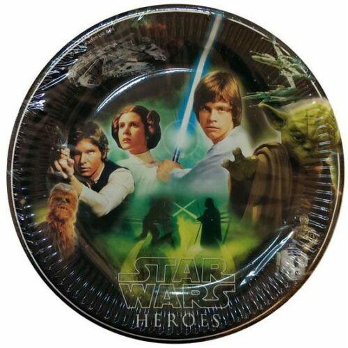 Star Wars papírtányér 23 cm 8 db-os szett