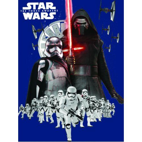Star Wars polár takaró nagy méretben - Kylo Ren és a rohamosztagosok
