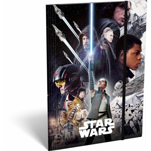 Star Wars: Az utolsó Jedik gumis mappa A/5