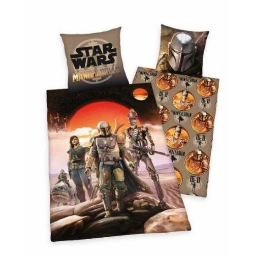 Star Wars The Mandalorain ágyneműhuzat garnitúra